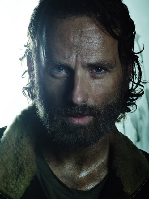Image result for rick grimes poster