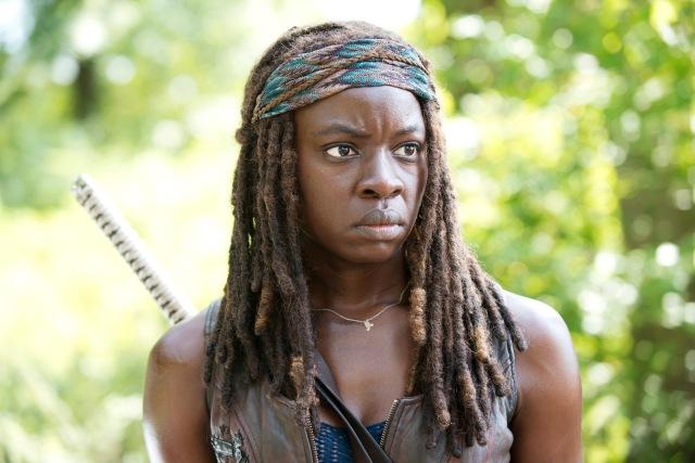 Danai Gurira as Michonne - The Walking Dead _ Season 5, Episode 9 - Photo Credit: Gene Page/AMC