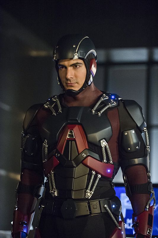 """Arrow -- """"Nanda Parbat"""" -- Pictured: Brandon Routh as Ray Palmer / The Atom -- Photo: Dean Buscher/The CW -- © 2015 The CW Network, LLC. All Rights Reserved."""