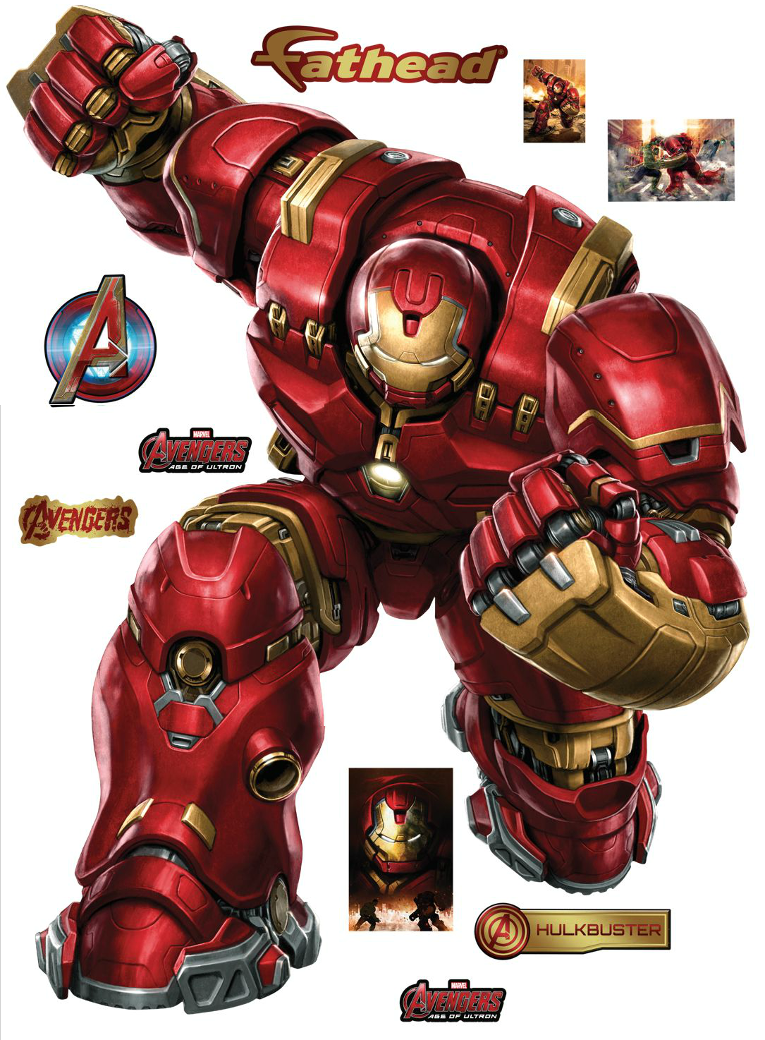 Avengers Wall Mural Avengers Age Of Ultron Fathead Wall Decals And Poster