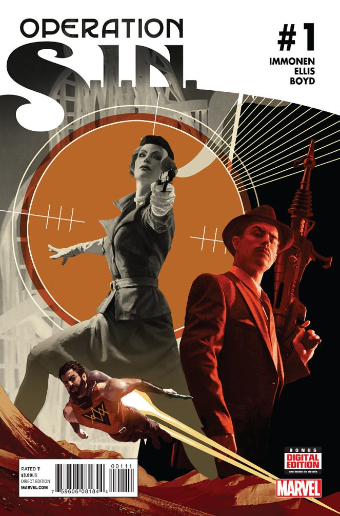 Comic_Agent Carter_OPERATION S.I.N. #1
