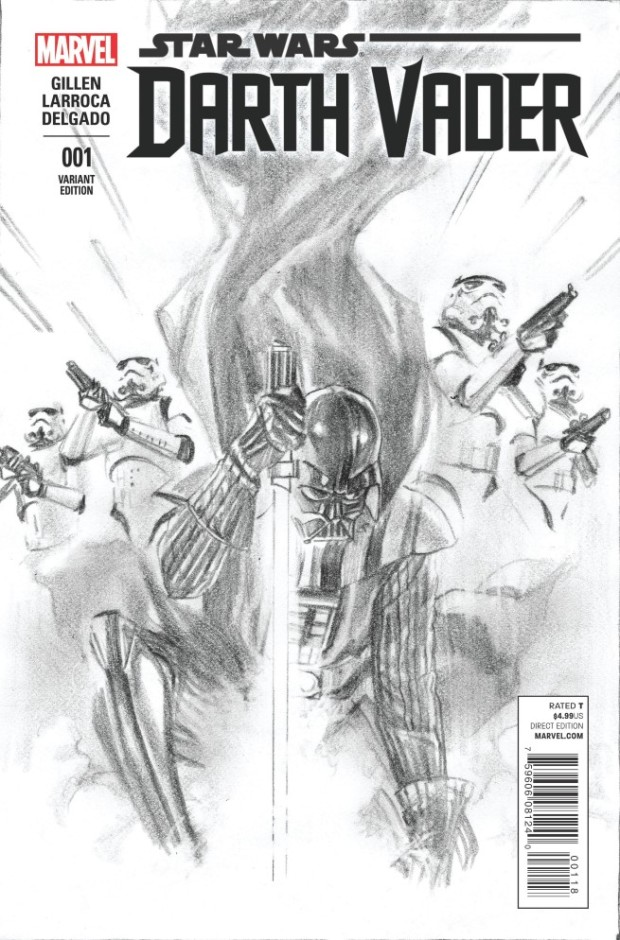 B&W Variant by Alex Ross