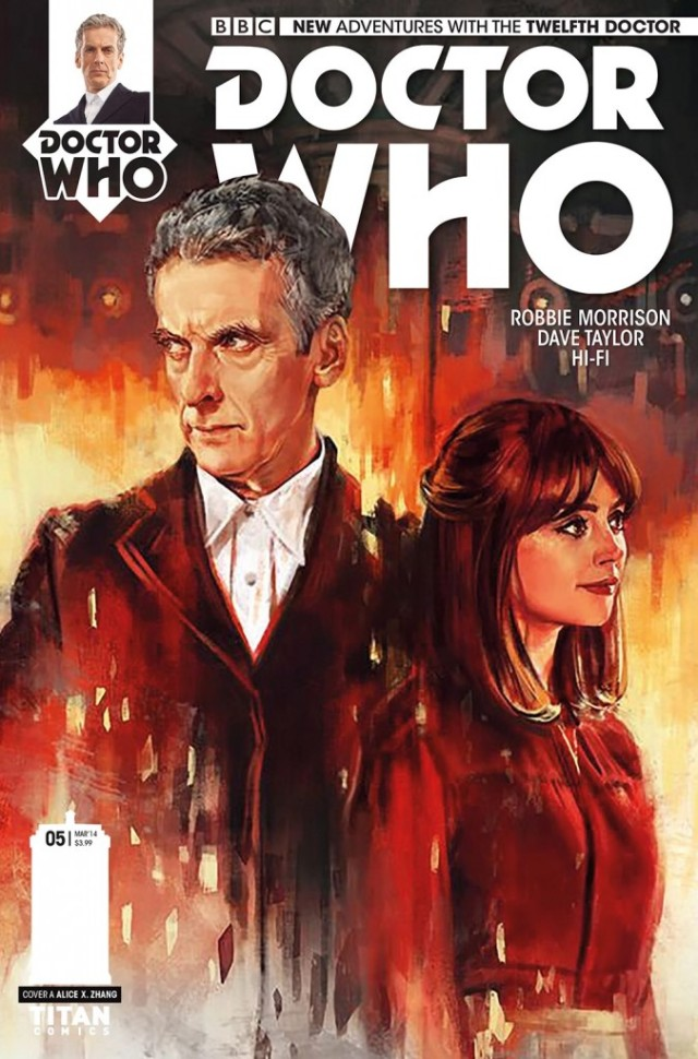 DOCTOR WHO_THE TWELFTH DOCTOR #5_Cover
