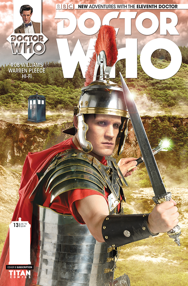 Eleventh Doctor Issue #13_Cover