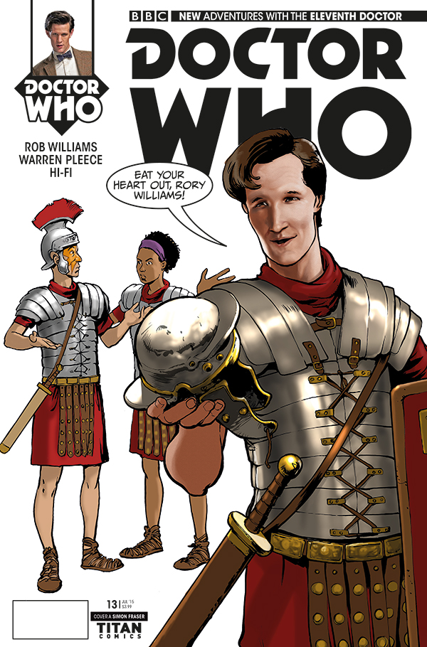 Eleventh Doctor Issue #13_Cover_A