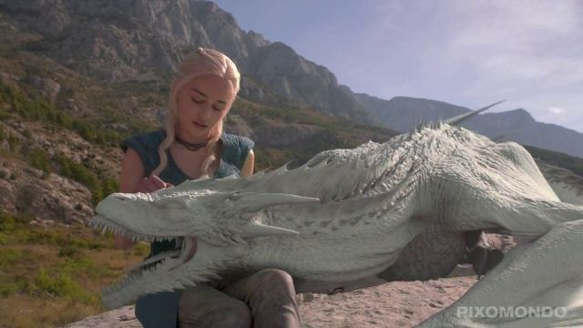 Game of Thrones_Making Of_Dragons by PIXOMONDO