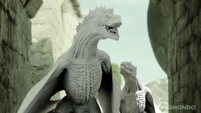 Game of Thrones_Making Of_Dragons by PIXOMONDO2