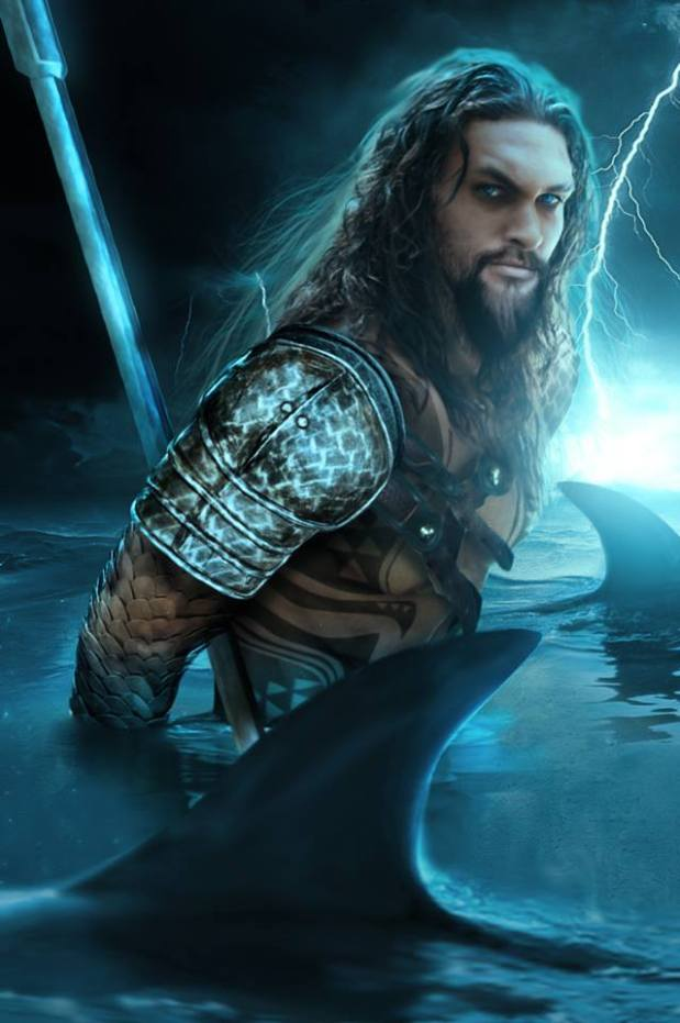 Jason Momoa as Aquaman by BossLogic