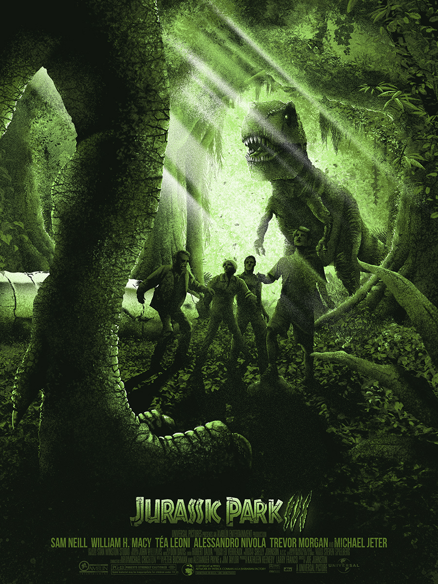 Check Out These Amazing 'Jurassic Park' Trilogy Posters by ...