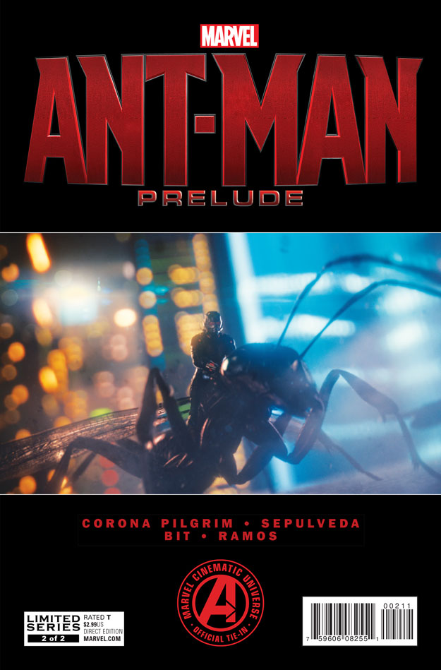 MARVEL'S ANT-MAN PRELUDE #2_Cover