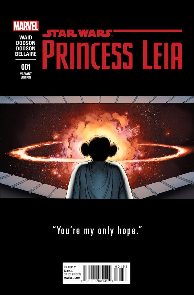 PRINCESS LEIA #1_Variant by  John Cassaday