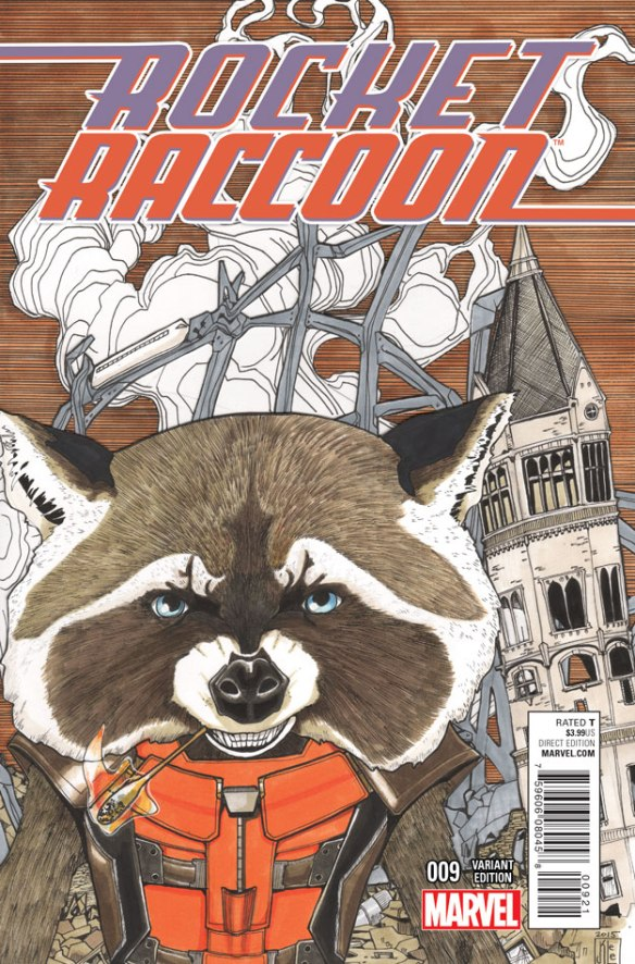 Comics: ROCKET RACCOON #9 Preview |