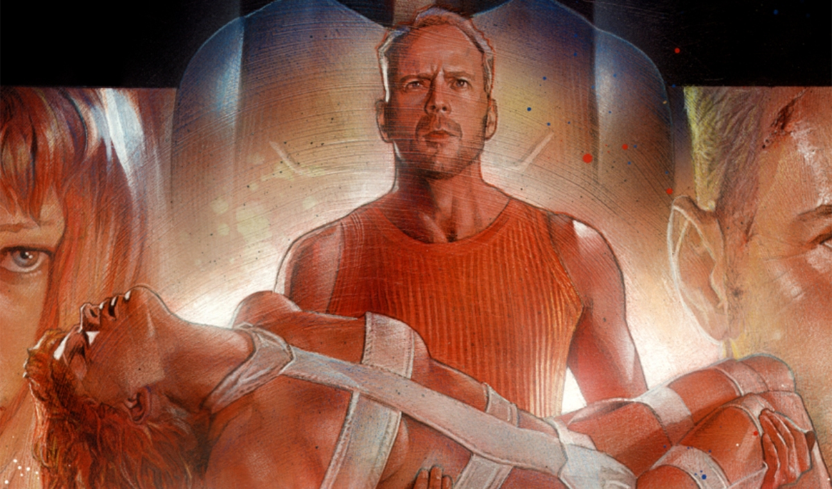 Geek Art The Fifth Element By Nick Runge