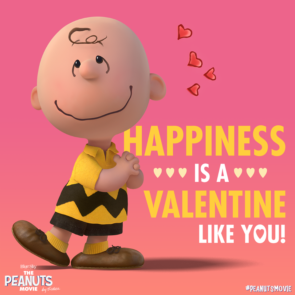 Celebrate valentine s day with the peanuts gang download and print