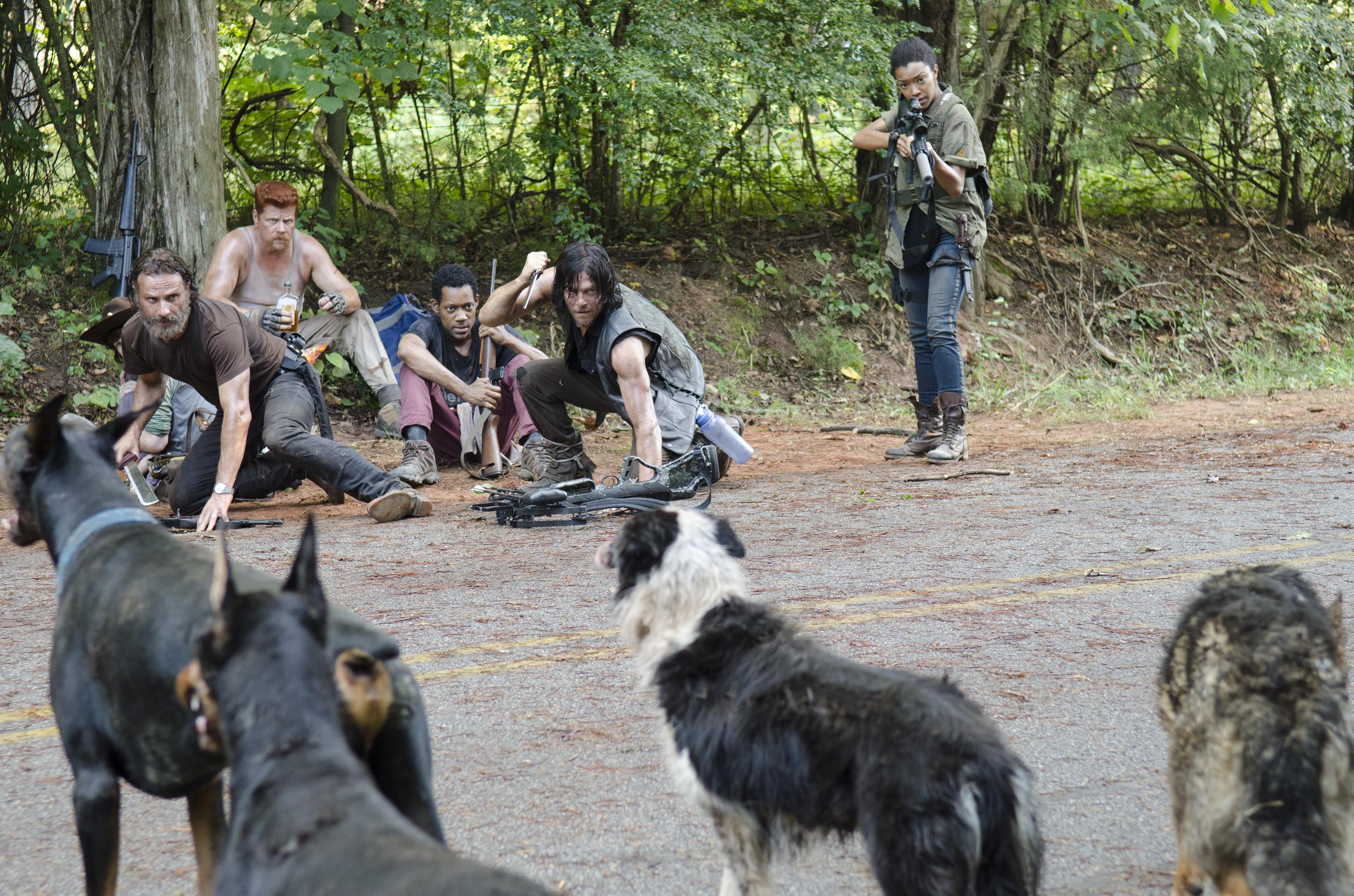 The Walking Dead Season 5 Episode 10 Them Looking Back 16