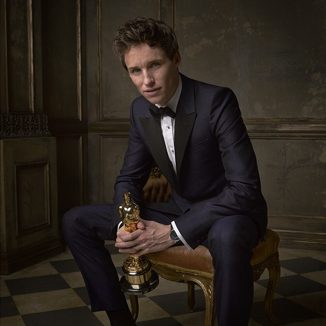 Eddie Redmayne (Best Actor Winner)
