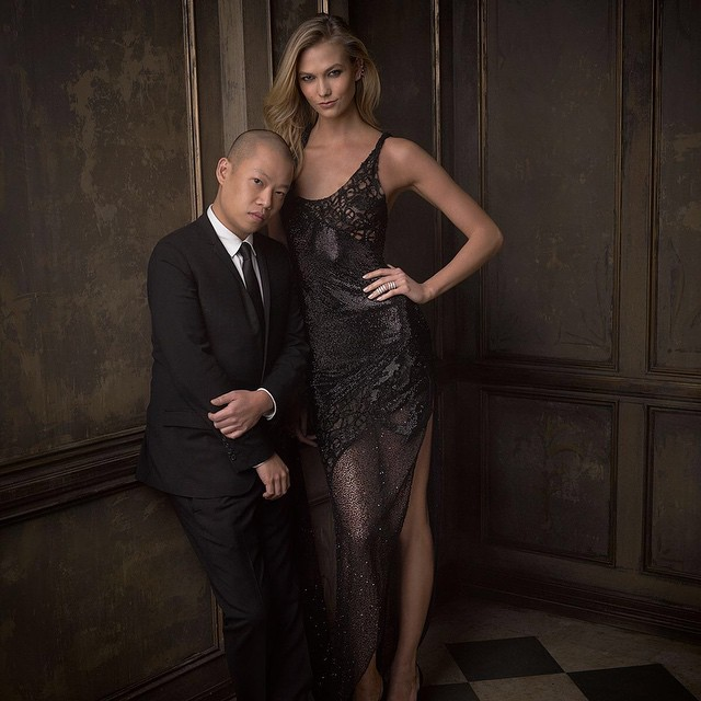 Jason Wu and Karlie Kloss