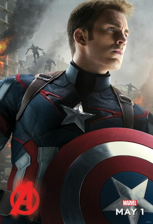 Avengers_Age of Ultron_Character Poster_Captain America