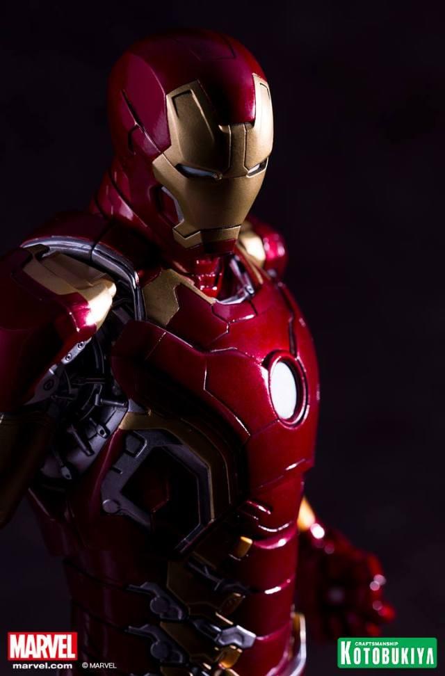 Avengers_Age Of Ultron_Iron Man Mark 43 ARTFX Statue_Kotobukiya (1)