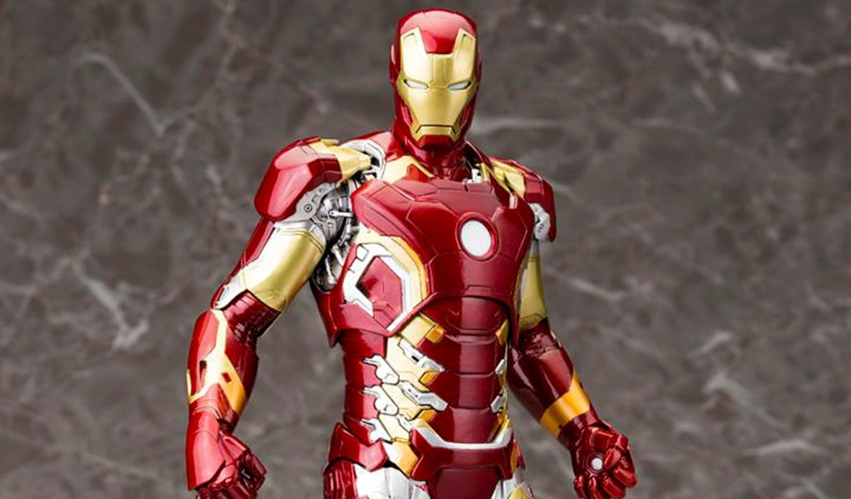 Avengers Age Of Ultron Iron Man Mark 43 Artfx Statue From