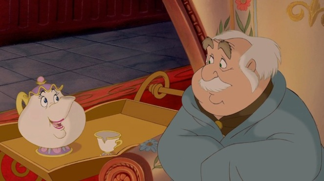 Beauty and the Beast_Mrs. Potts and Maurice