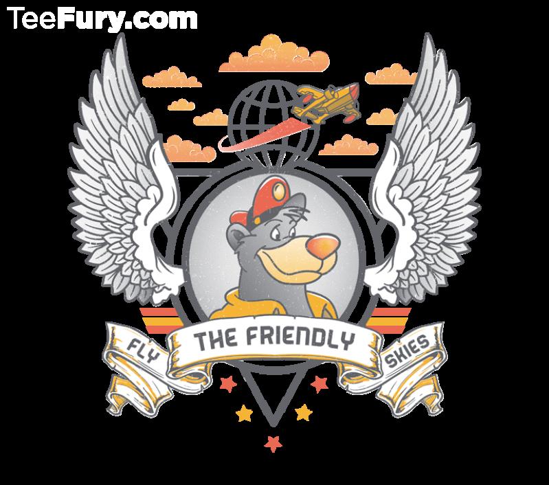 Fly the Friendly Skies by beware1984_TeeFury
