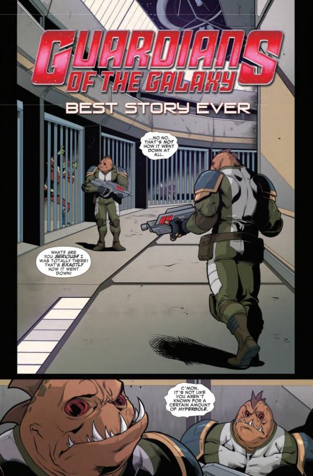 GUARDIANS OF THE GALAXY_BEST STORY EVER #1_1