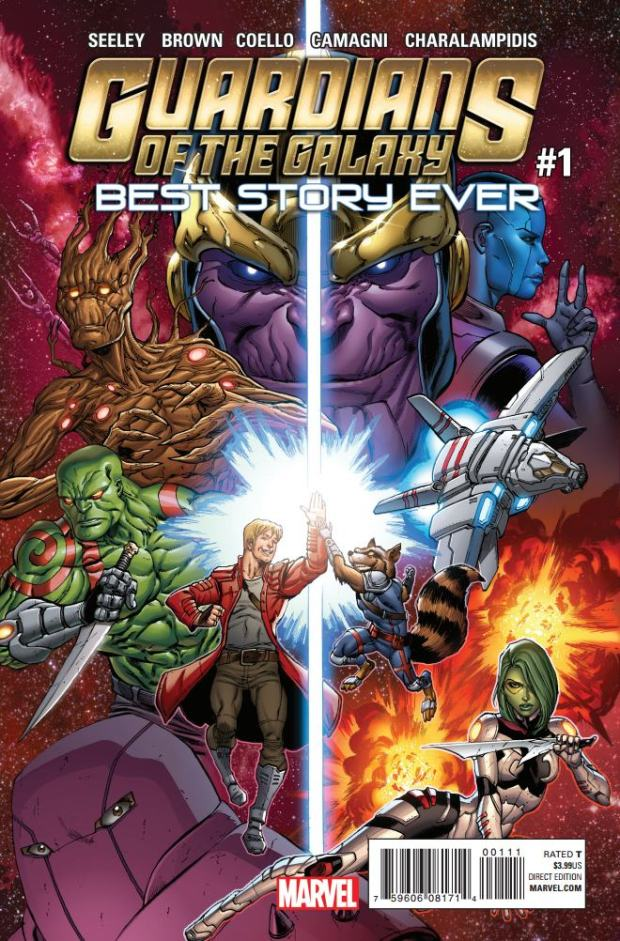 GUARDIANS OF THE GALAXY_BEST STORY EVER #1_Cover
