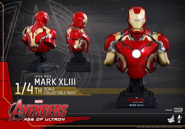 Hot-Toys-Iron-Man-Mark-43-quarter-scale-bust-Age-of-Ultron