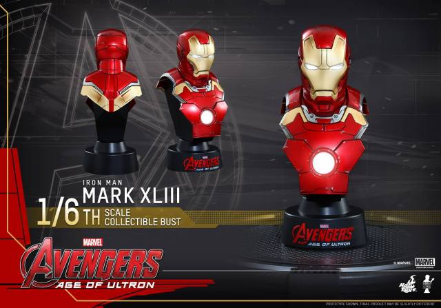 Hot-Toys-Iron-Man-Mark-43-sixth-scale-bust-Age-of-Ultron-2