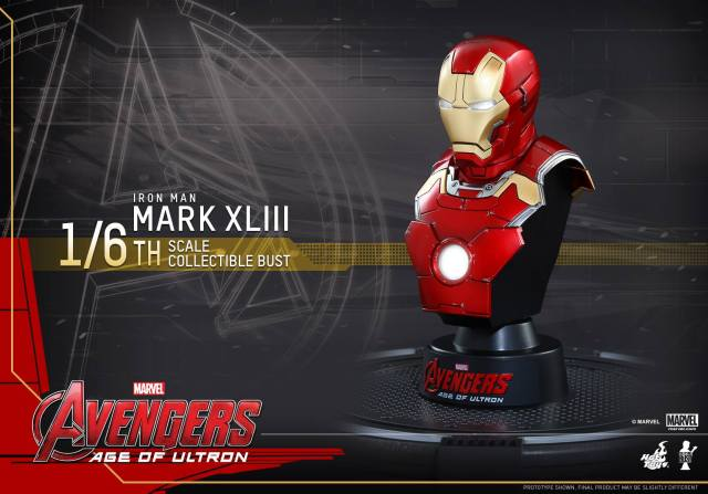 Hot-Toys-Iron-Man-Mark-43-sixth-scale-bust-Age-of-Ultron