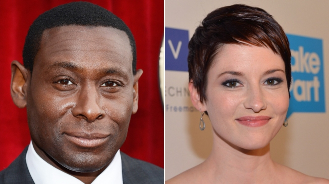 Supergirl_David Harewood and Chyler Leigh