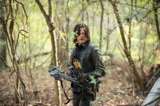 Norman Reedus as Daryl Dixon - The Walking Dead _ Season 5, Episode 15 - Photo Credit: Gene Page/AMC