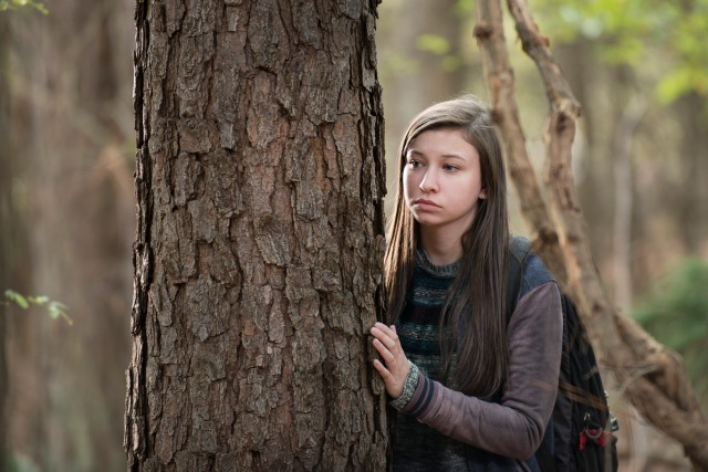 Katelyn Nacon as Enid - The Walking Dead _ Season 5, Episode 15 - Photo Credit: Gene Page/AMC