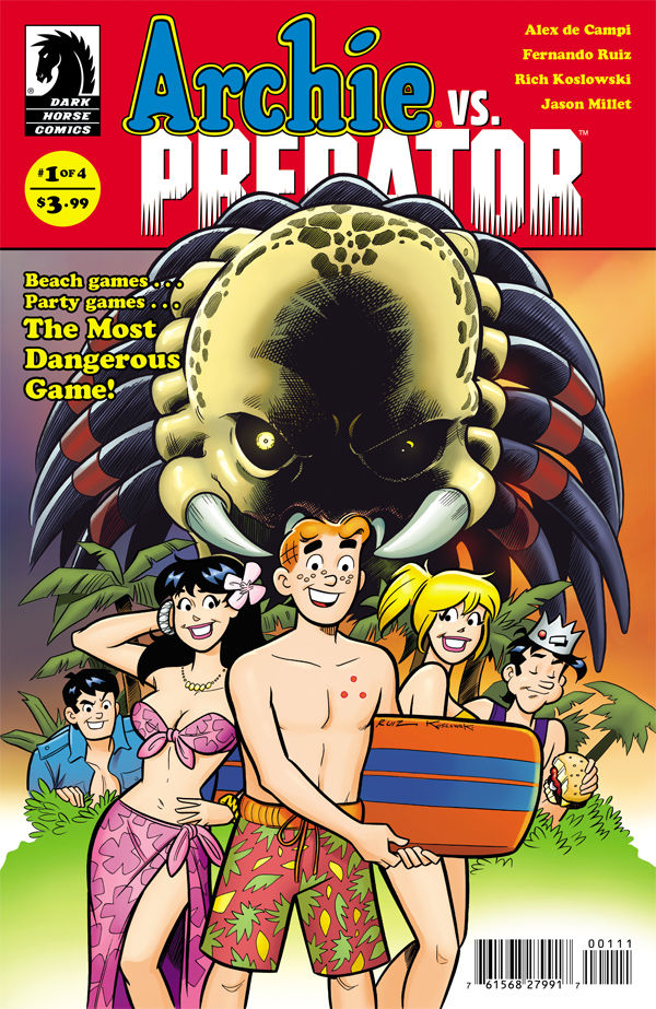ARCHIE VS. PREDATOR #1_Cover