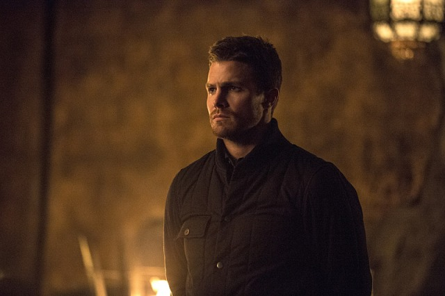"""Arrow -- """"The Fallen"""" -- Image AR320B_0150 -- Pictured: Stephen Amell as Oliver Queen -- Photo: Cate Cameron/The CW -- © 2015 The CW Network, LLC. All Rights Reserved."""