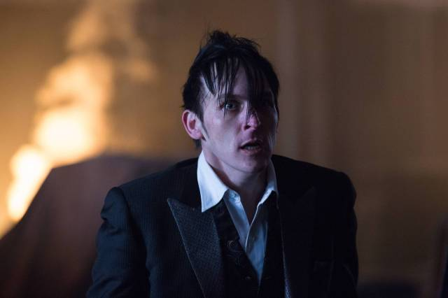 GOTHAM: Oswald Cobblepot (Robin Lord Taylor) in the ÒAll Happy Families Are AlikeÓ episode of GOTHAM airing Monday, May 4 (8:00-9:00 PM ET/PT) on FOX. ©2015 Fox Broadcasting Co. Cr: Jessica Miglio/FOX