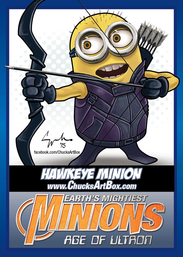 Exclusive Avengers Age Of Ultron Minion Mashup Art