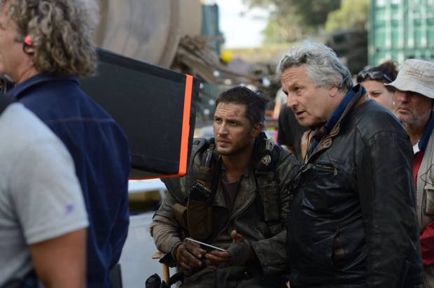 Mad Max_Fury Road_George Miller and Tom Hardy