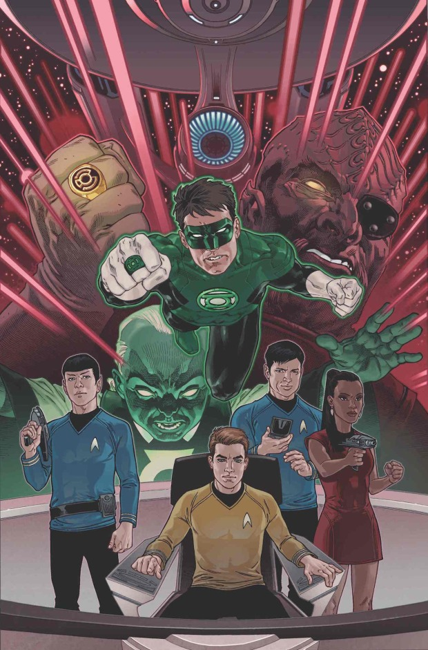 Star Trek_Green Lantern_The Spectrum War2