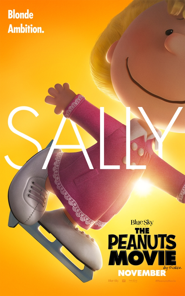 The Peanuts Movie_Sally_Character Poster