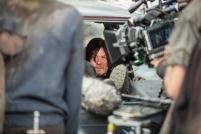 Norman Reedus as Daryl Dixon - The Walking Dead _ Season 5, Episode 16 _ BTS - Photo Credit: Gene Page/AMC