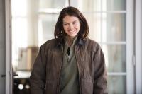 Lauren Cohan - The Walking Dead _ Season 5, Episode 16 _ BTS - Photo Credit: Gene Page/AMC