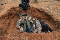 Walker - The Walking Dead _ Season 5, Episode 16 _ BTS - Photo Credit: Gene Page/AMC