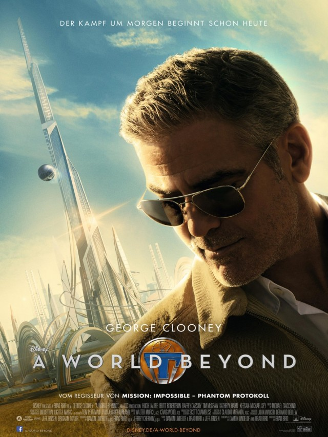 Tomorrowland_George Clooney_Poster