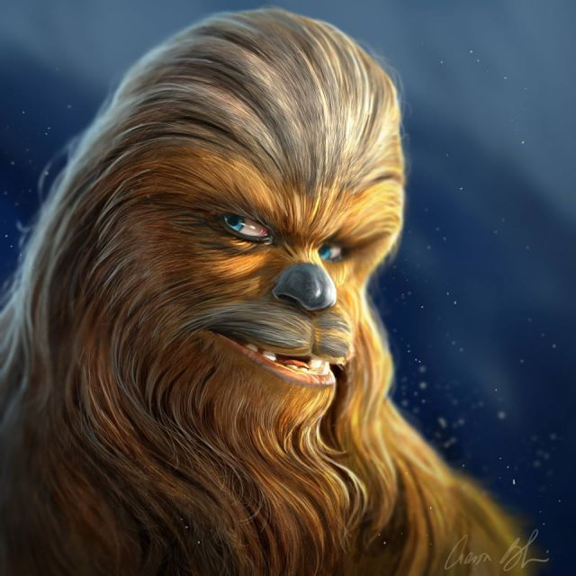 Chewbacca by Aaron Blaise