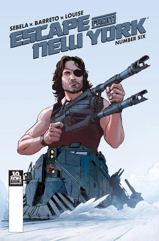 Escape from New York #6_Variant