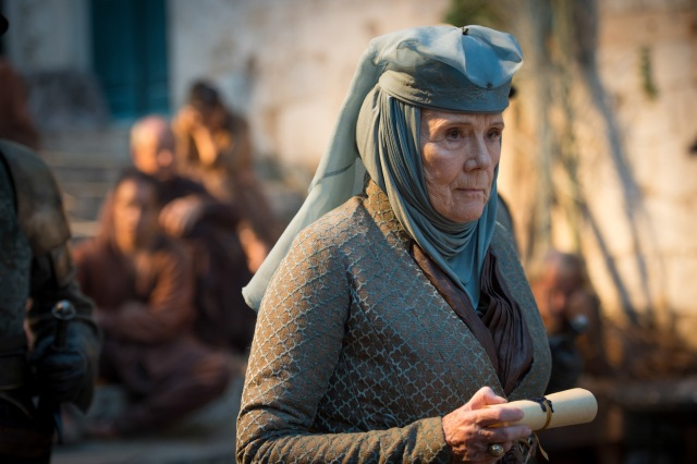 Pictured: Diana Rigg as Olenna Tyrell. Photographer: Macall B. Polay/HBO