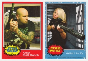 Artist Guests of Honor Matt Busch & Lin Zy