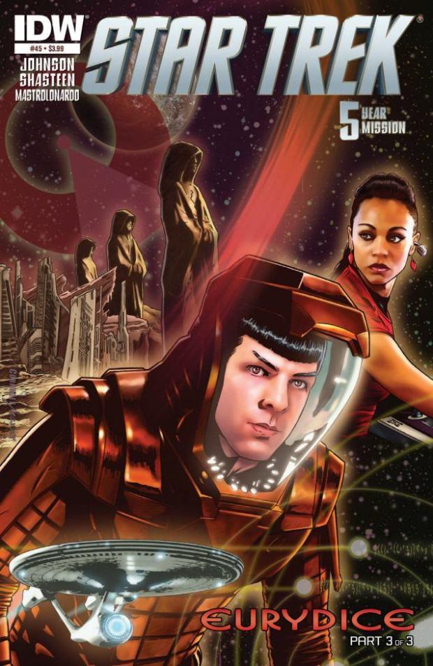 STAR TREK #45_Cover